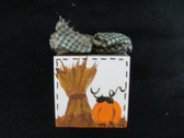 FALL  WOOD  BLOCK  *  NEW