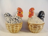 Enesco's Isabelle ... ROOSTER SALT & PEPPER  *  NEW From Our Shop