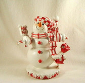 Enesco  ~  SNOWMAN ... With Birdhouse & Sign  *  NEW From Our Retail Shop