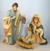 Enesco  ~  PORCELAIN  3 PC. NATIVITY  SET *  NIB