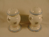Enesco  ~  MARY HUGHES SALT & PEPPER ... Ribbon & Roses  *  NEW From Our Shop