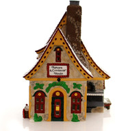 Dept. 56  ~  North Pole POPCORN  &  CRANBERRY  HOUSE  *  NEW From Our Shop