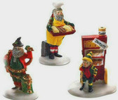 Dept. 56  ~  North Pole BAKER  ELVES  *  NEW From Our Retail Shop