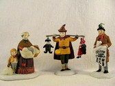 Dept 56  ~  PORTEBELLO ROAD PEDDLERS ... Set of 3   *  NEW From Our Retail Shop