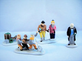 Dept 56  ~  NICHOLAS NICKLEBY ... Set of 4  *  NEW From Our Retail Shop