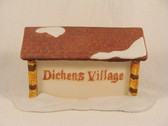 Dept 56  ~  DICKEN'S VILLAGE ... Sign * NEW From Our Retail Shop