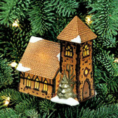 Department 56  ~  DICKEN'S VILLAGE CHURCH ... Ornament  *L.E.*  NIB