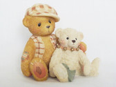Cherished Teddies ~ BAILEY And FRIEND ... Friends Collection  * NIB