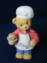 Cherished Teddies ~  DENNIS ...The Chef  *Exclusive*  NEW From Our Shop
