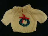 YELLOW KNIT SWEATER ... For Plush or Dolls * NWT