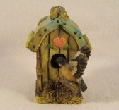 Westland  ~  BIRDHOUSE ORNAMENT w/Heart  *  NEW From Our Shop