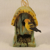 Westland  ~  BIRDHOUSE ORNAMENT w/Arched Roof  *  NEW From Our Shop