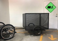 """--SOLD-- Flatbed Pedal Truck """"Load Warrior"""" with E-assist and Trailer - New"""
