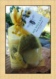 Bee Well Goat Milk Skin Care Kit Large