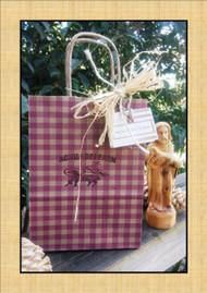 Gingham Gift Bag Cute As Pie