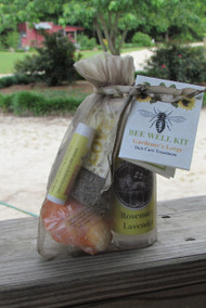 Gardener's Bee Well Skin Care Kit Large