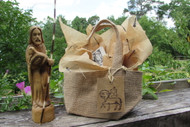 Agnus Dei Farm Burlap Mini Gift Bag