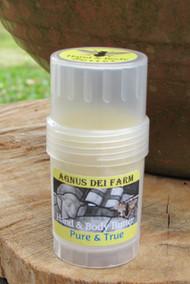 Queen Bee Hand & Body Butter Bar Pure & True  Small