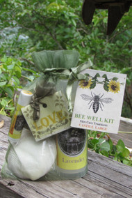 Bee Well Castile Skin Care Kit Large