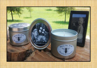 Queen Bee Candle Small - Fir Needle - Tea Tree & Cinnamon