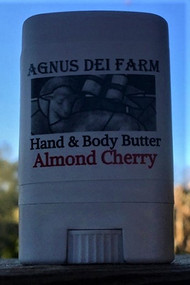 Queen Bee Hand & Body Almond Cherry Size Petite  Smells Like Grandmother's Jergens Lotion