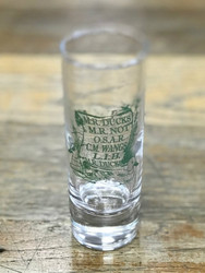 M.R. Ducks® Tall Shot Glass with Poem
