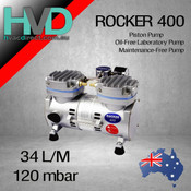 Rocker 400, 220V/50Hz oil free vacuum pump.