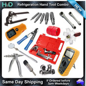 Refrigeration Hand Tools Combo Kit Tube Bender, Expander, Multimeter, Flaring ++