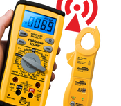 LT17AW Wireless Bench Meter with ACH4 AC Clamp Accessory