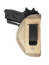 New Desert Sand Inside the Waistband Belt Holster for Mini/ Pocket 22 25 32 380 Pistols (#67-4sDS)