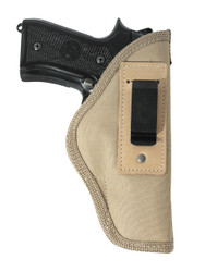 New Desert Sand Inside the Waistband Gun Holster for Full Size 9mm .40 .45 Pistols (#67-32DS)