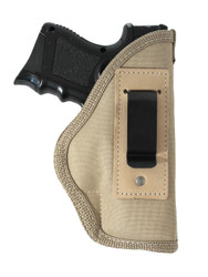 New Desert Sand Inside the Waistband Gun Holster for Compact Sub-Compact  9mm .40 .45 Pistols (#67-22DS)
