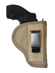 "Desert Sand Inside the Waistband Holster for 2"", Snub-Nose .38 .357 Revolvers"