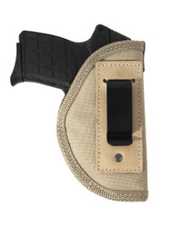 Desert Sand Inside the Waistband Holster for 380, Ultra Compact 9mm 40 45 Pistols