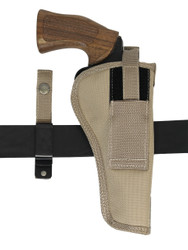 "Desert Sand 360Carry 8 Option OWB Cross Draw Holster for 6"" Revolvers"