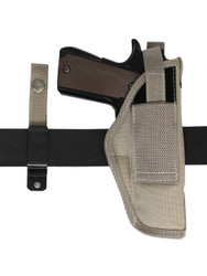 Desert Sand 360Carry 12 Option OWB IWB Cross Draw Holster for Full Size 9mm 40 45 Pistols