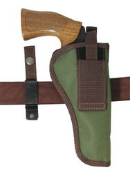 "Woodland Green 360Carry 8 Option OWB Cross Draw Holster for 6"" Revolvers"