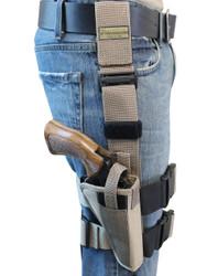 """Desert Sand Tactical Leg Holster for 4"""" .38 .357 .41 .44 Revolvers"""
