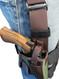 thumb-break retention leg holster