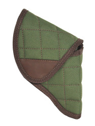 "Holster store: Woodland Green Flap Holster for Snub Nose 2"" 22 38 357 41 44 Revolvers"
