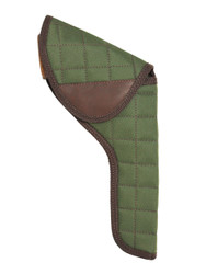 "Woodland Green Flap Holster for 6"" Revolvers"