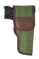 New Woodland Green Flap Holster for Full Size 9mm .40 .45 Pistols (#202FWG)