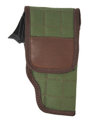 Woodland Green Flap Holster for Compact 9mm .40 .45 Pistols