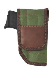 Woodland Green Flap Holster for 380 Ultra Compact 9mm .40 .45 Pistols