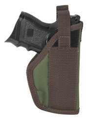 Woodland Green Belt Holster for Compact Sub-Compact 9mm .40 .45 Pistols