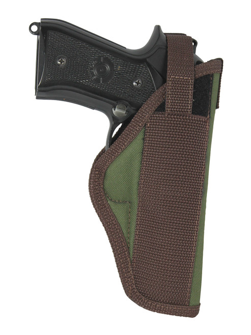 Woodland Green Outside the Waistband Holster for Full Size 9mm .40 .45 Pistols