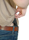 tuckable holster position