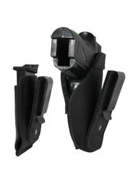 New Black Leather Tuckable IWB Holster + Mag Pouch for Mini/Pocket .22 .25 .380 Pistols (CTU68-4sBL)