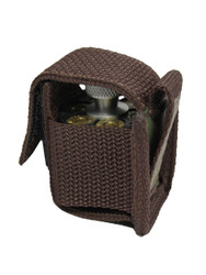 Woodland Green Single Speed Loader Pouch for .22 .38 .357 Revolvers