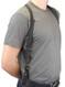 belt tie down for shoulder holster